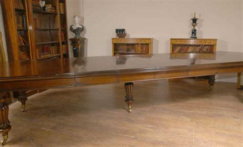 xl  seat english victorian dining table tables