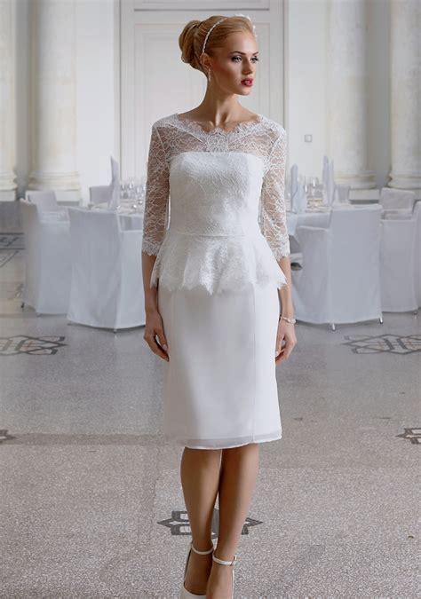 Standesamt Brautmode by Standesamt Hochzeitskleid Miranda