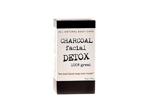 Destiny Boutique Charcoal Detox by Destiny Boutique Charcoal Detox Bar Soap 6 Oz