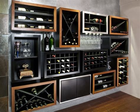 mahogany wine cabinet kessick wine cellarskitchen design kessick contemporary wine racking contemporary wine