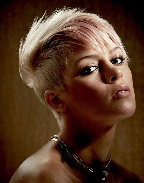 edgy rock hairstyles 22 amazing super short haircuts for women styles weekly