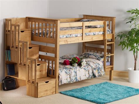 Pine Bunk Bed With Storage Luxury Pine Bunk Bed With Storage Railing Stairs And Kitchen Design Best Pine Bunk Bed With