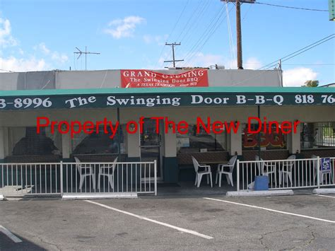 swinging door tustin the new diner the swinging door bbq closed
