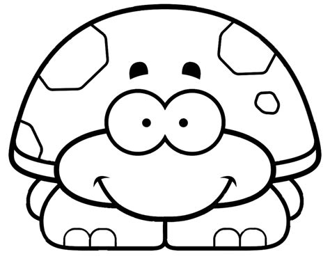 Preschool Coloring Pages Turtles | download free printable turtle coloring pages for