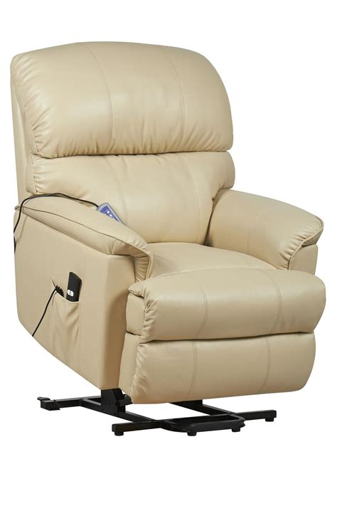motor recliner chair canterbury dual motor leather electric riser and recliner