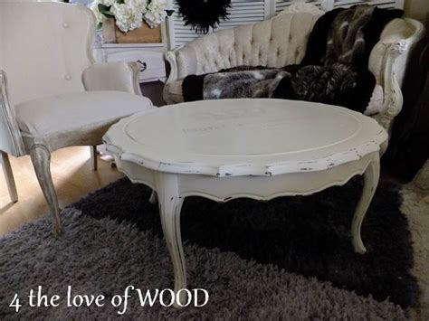 4 the love of wood warming up white shabby chic coffee table