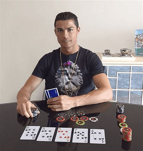 cristiano ronaldo reportedly set to join pokerstars team