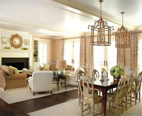Living Room And Dining Room Same Color The Rugs Separate But Enough In Common Same Rug Same