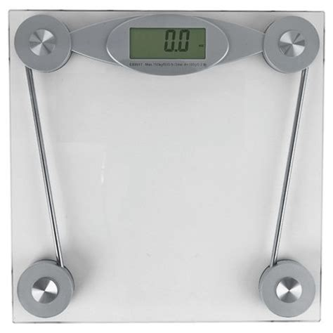 Glass Digital Bathroom Scales by Buy Tesco Clear Glass Electronic Bathroom Scale From Our