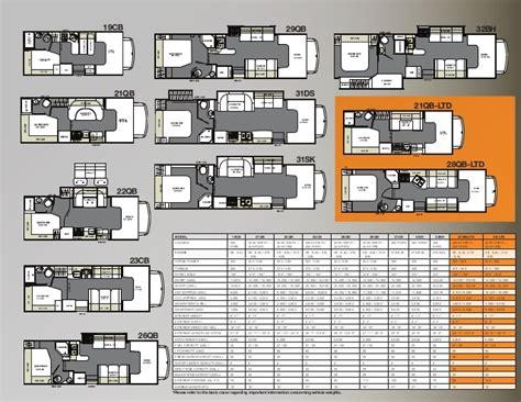 coachmen class c motorhome floor plans coachmen class c motorhome floor plans gurus floor