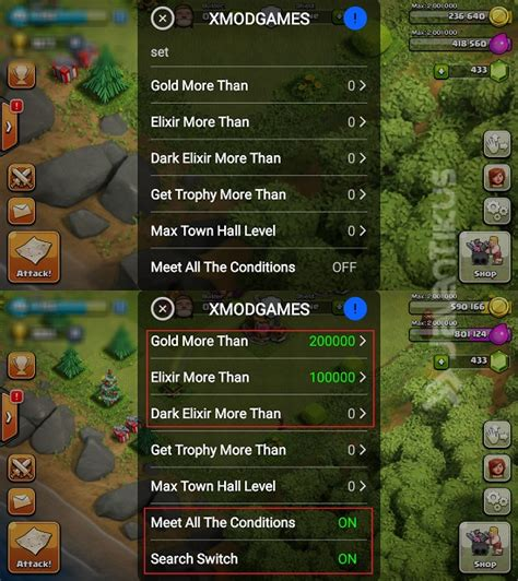 x mod games clash of clans hile xmodgames clash of clans gold dan elixir tanpa batas