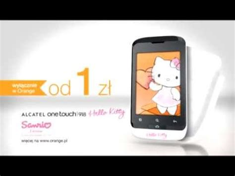 hello kitty themes for alcatel one touch alcatel one touch 918 hello kitty smartphone youtube