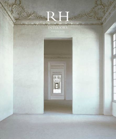 restoration hardware 2013 catalog home interior