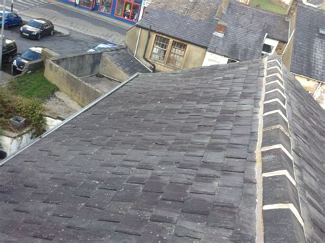 Roof Tile Repair Resetting Ridge Tiles On A Terrace Cjb Roofing