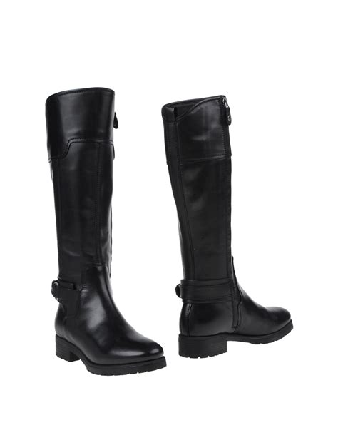 geox boots geox boots in black lyst