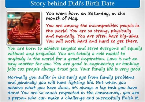 Find By Birth Date Check My Results Of Find Story Your Birth Date App By Clicking