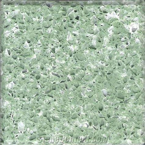 Quartz Countertops Green by Green Quartz Surfacing Ybs 056 From China Stonecontact