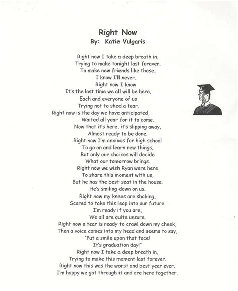 Grade Promotion Letter Graduating 8th Grade Poems Graduation Poems Graduation Middle School Poem