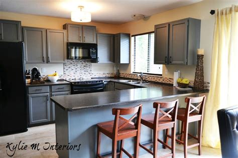 Best Paint Colors For Dining Rooms painted wood oak kitchen cabinets benjamin moore chelsea gray