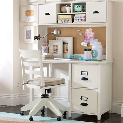 teen desk with hutch chatham small file desk hutch pbteen