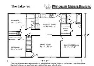 lakeview by westchester modular homes ranch floorplan