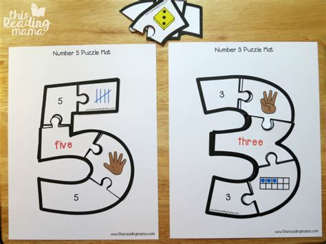 Puzzle Number printable number puzzles 1 10