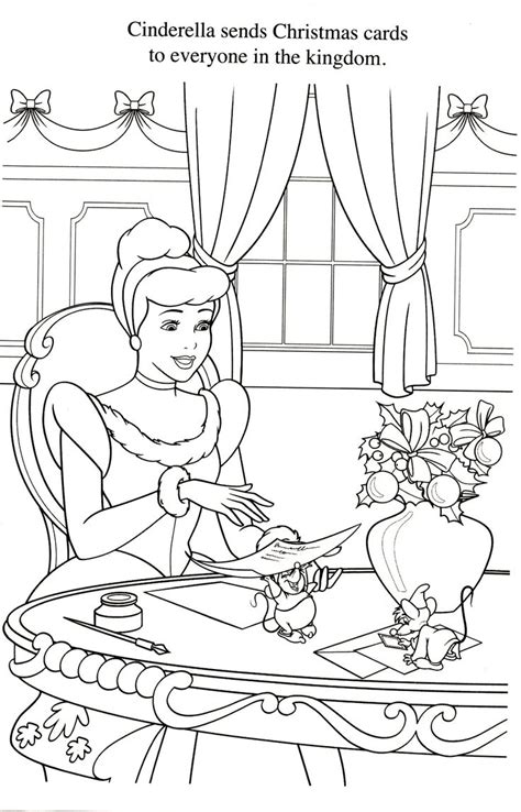 coloring pages cinderella mice coloriage cendrillon disney coloring pages pinterest