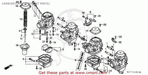 kf carburetor diagram honda cbx750p 1984 e australia plb carburetor