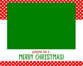 Template Christmas Card Free Free Christmas Card Templates Crazy Little Projects