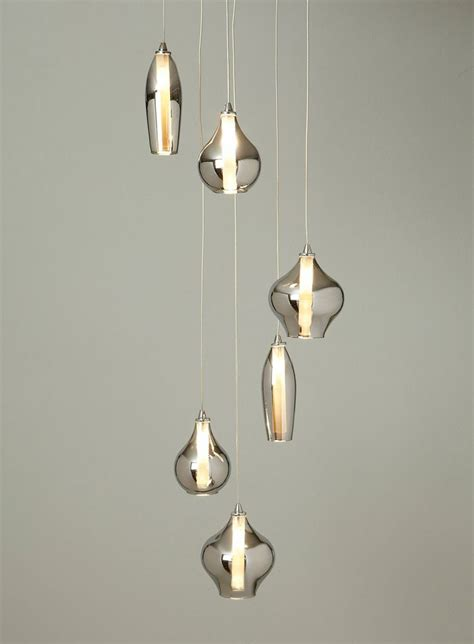 Cluster Pendant Light Smoke Nakita Cluster Pendant Lovely Lights Pinterest