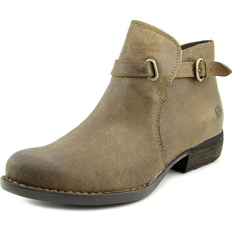 born born jem suede bronze ankle boot boots