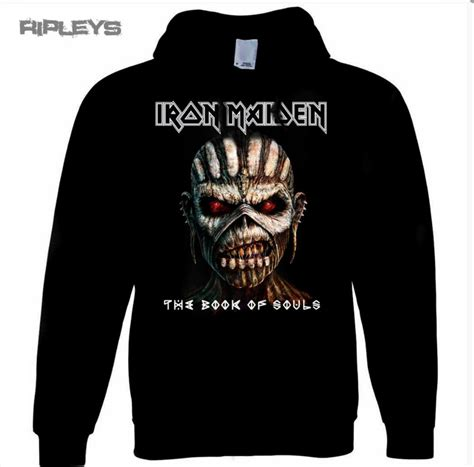 Hoodie Iron 2 Cloth official iron maiden hoody hoodie book of souls pullover
