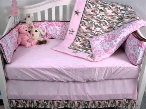 Pink Camo Baby Crib Nursery Bedding Set 13 Pcs Included Pink Camo Nursery Decor