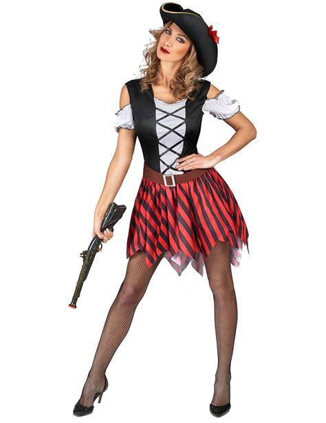imagenes mujeres piratas disfraz pirata rayas rojas y negras mujer este disfraz de