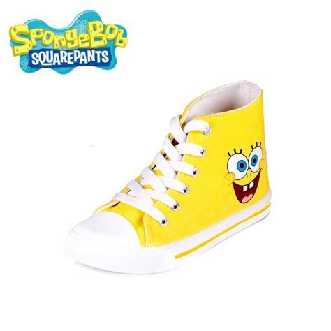 spongebob canvas shoes for boys and sport