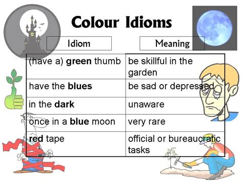 color idioms 7 popular color idioms and their meanings eage tutor