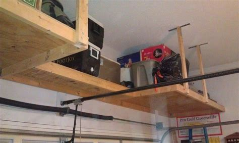 Overhead Garage Door Storage Garage Door Shelf Above Garage Door Storage Landscaping Door Shelves