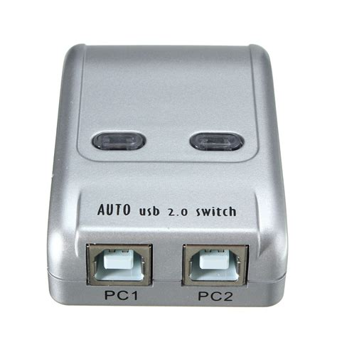 Usb Switch For Usb Printer 2 Port 2 port usb 2 0 auto printer switch hub selector