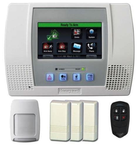 honeywell l5100 security systems ebay