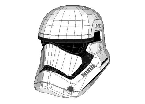 Papercraft Stormtrooper Helmet - papercraftsquare new paper craft wars