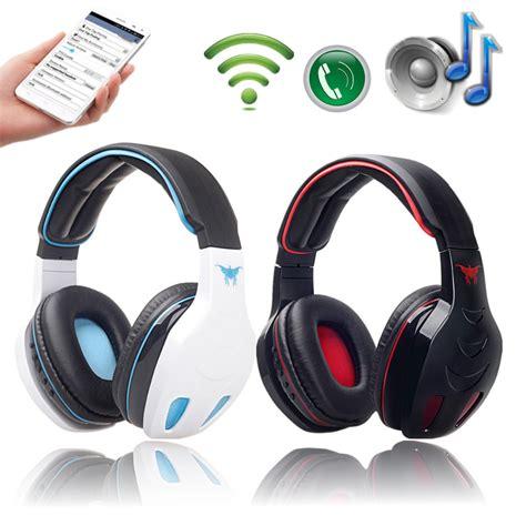 Headset Bluetooth Bass stn 08 protable wireless bluetooth stereo headphone