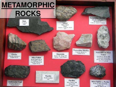 types of rocks rocks