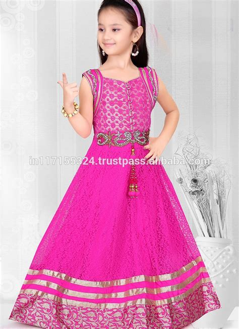 Dress Casual Box Blue Dress Anak Cakep Banget wholesale fashion frock design child clothes small anarkali floor touch design dress