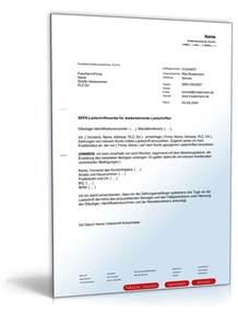 Musterbriefe Unternehmen Sepa Lastschriftmandat Muster Vorlage Zum