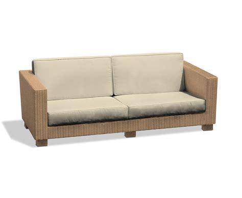 rattan settee furniture large 4 seat rattan garden sofa wicker settee outdoor couch