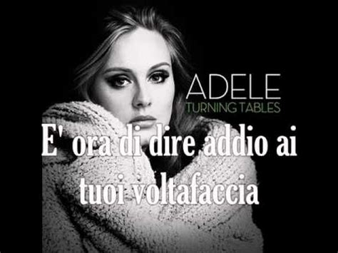 Adele Turning Tables Traduction by Adele Turning Tables Traduzione