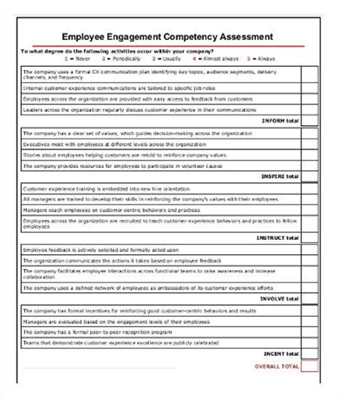 Employee Competency Assessment Template Competency Assessment Templates 9 Free Word Pdf Documents Download Free Premium Templates