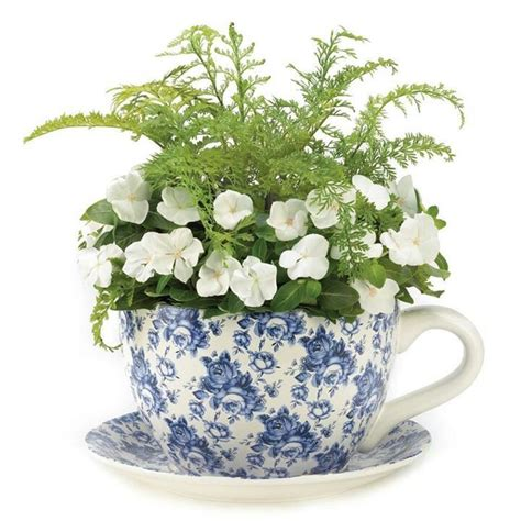 Teacup Planter by