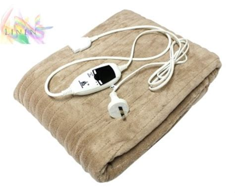 Electric Heated Rug by Electric Heated Throw Rug Snuggle Blanket New 5 Colours Ebay