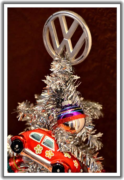 vw christmas tree   ring   holidays vw cars volkswagen vw camper